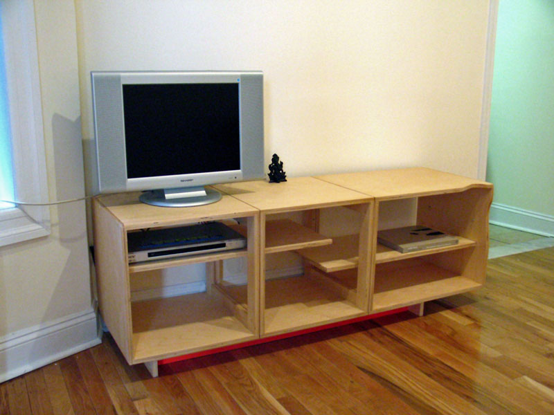Custom plywood furniture, nodesign, LLC; www.justinbuilds.com